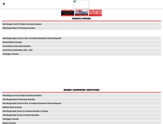 west-bengal.indiaresults.com screenshot