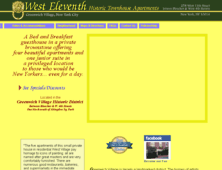 west-eleventh.com screenshot