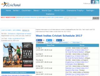 west-indies.cricketworld4u.com screenshot