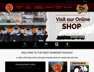 west-somerset-railway.co.uk screenshot