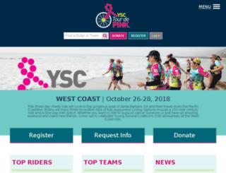 west.ysctourdepink.org screenshot