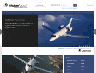 westair.com screenshot