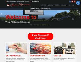 westalabamawholesale.com screenshot