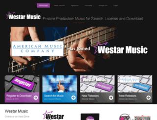 westarmusic.com screenshot