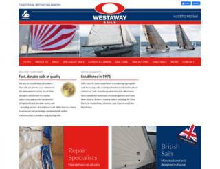 westawaysails.co.uk screenshot