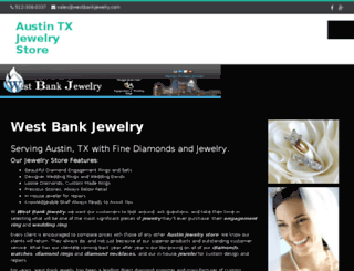 westbankjewelry.com screenshot
