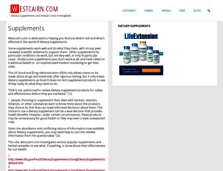 westcairn.com screenshot