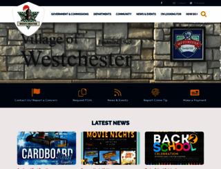 westchester-il.org screenshot