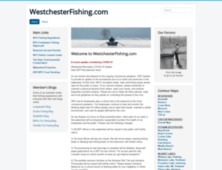 westchesterfishing.com screenshot