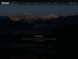 westcoast.co.nz screenshot