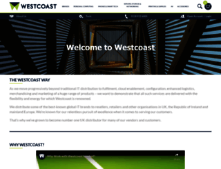 westcoast.co.uk screenshot