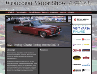 westcoastmotorshow.fi screenshot