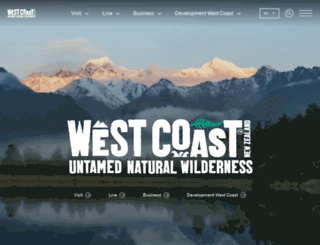 westcoastnz.com screenshot