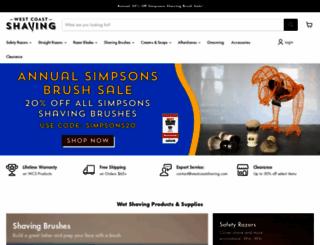 westcoastshaving.com screenshot