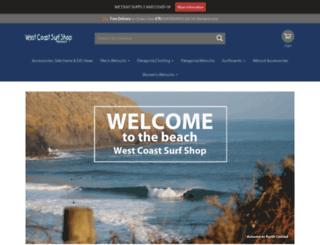 westcoastsurf.co.uk screenshot