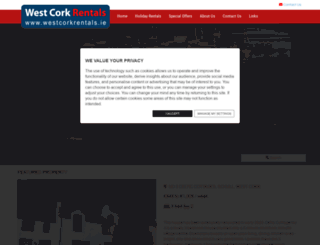 westcorkrentals.ie screenshot