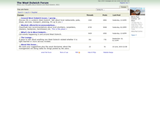 westdulwichforum.co.uk screenshot