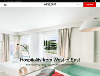 westeastsuites.com screenshot