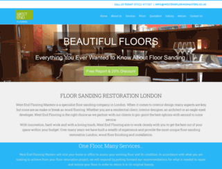 westendflooringmasters.co.uk screenshot