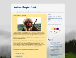 western-mongolia-tour.blogspot.com screenshot