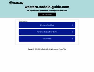 western-saddle-guide.com screenshot