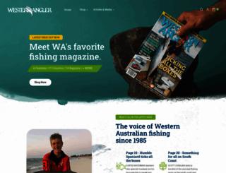 westernangler.com.au screenshot