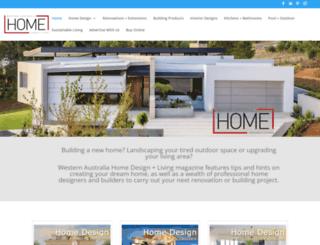 westernaustralia.homedesignandliving.com.au screenshot