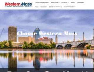 westernmassedc.com screenshot