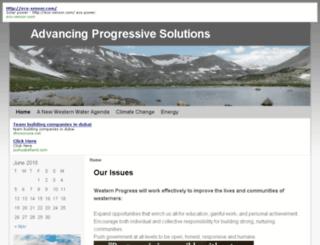 westernprogress.org screenshot