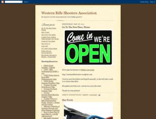 westernrifleshooters.blogspot.com screenshot