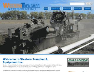 westerntrencher.com screenshot
