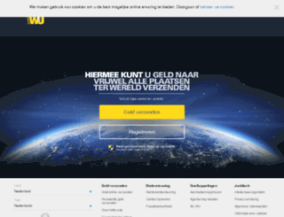 westernunion.nl screenshot