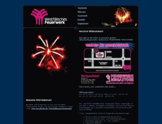 westfaelisches-feuerwerk.de screenshot