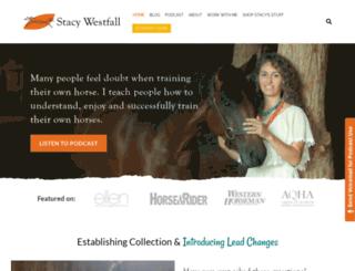 westfallhorsemanship.com screenshot