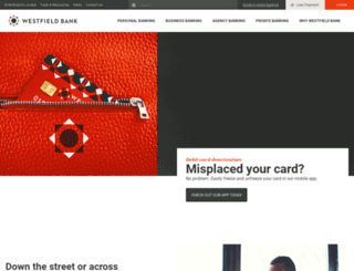 westfield-bank.com screenshot