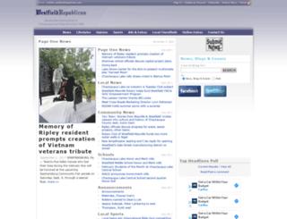 westfieldrepublican.com screenshot