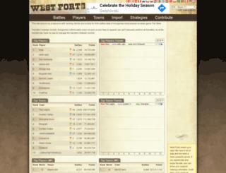 westforts.com screenshot