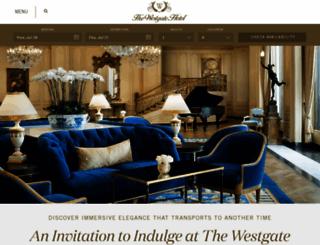 westgatehotel.com screenshot