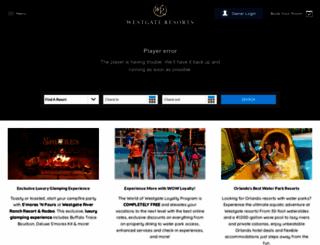 westgateresorts.com screenshot