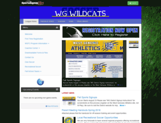 westgeneseefcboys.sportssignup.com screenshot