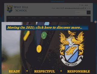 westhillschool.co.uk screenshot