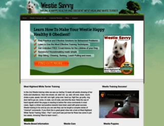 westiesavvy.com screenshot