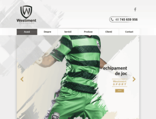 westiment.ro screenshot