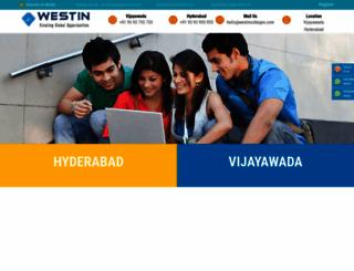 westin.ac.in screenshot