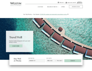 westin.com.au screenshot