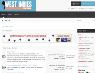westindiesforum.com screenshot