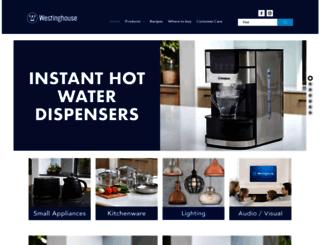 westinghousesmallappliances.com.au screenshot