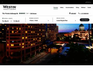 westinindianapolis.com screenshot