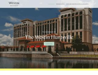 westinresidences.com screenshot