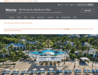 westinresortstjohn.com screenshot